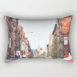 Mulberry Street Little Italy Rectangular Pillow