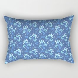 fleur de otachi - dark Rectangular Pillow