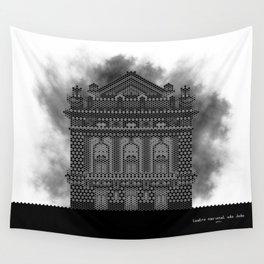 HexArchi - Portugal, Porto, Teatro Nacional São João Wall Tapestry