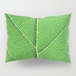 Green Vein Life Pillow Sham