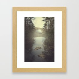 1, 2, _ Framed Art Print