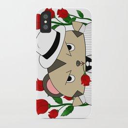 Romantic Mole Capone iPhone Case