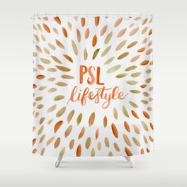 Pumpkin Spice Lifestyle Shower Curtain