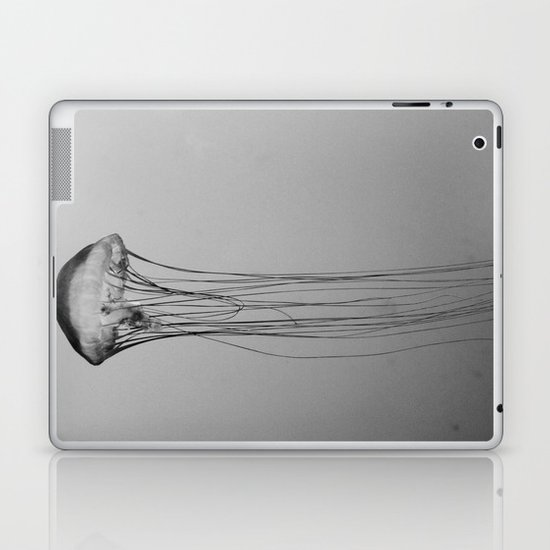Drifting Through Time and Space Laptop & iPad Skin