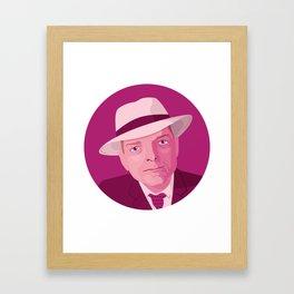 Queer Portrait - Truman Capote Framed Art Print