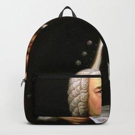 Elias Gottlob Haussmann - Portrait of Johann Sebastian Bach Backpack