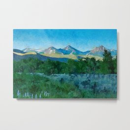 Sun Valley morning Metal Print