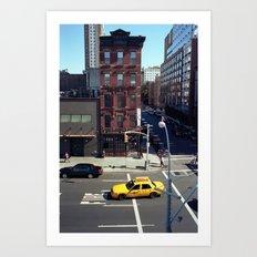 New York Story Art Print