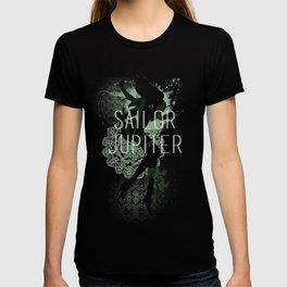 minimal sailor jupiter T-shirt