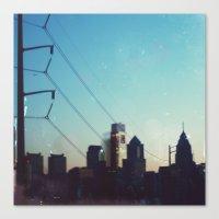 philadelphia Canvas Prints featuring Philadelphia by Tina Crespo