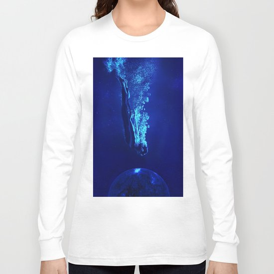 Space Diver Long Sleeve T-shirt