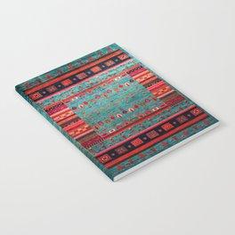 N41 - Blue Bohemian Traditiona Moroccan Artwork. Notebook