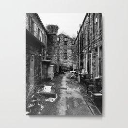 january terrace Metal Print