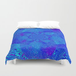 The Blues Duvet Cover