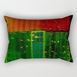 Secrets Under Fall Leaves Rectangular Pillow