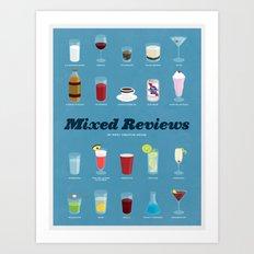 Mixed Reviews Art Print