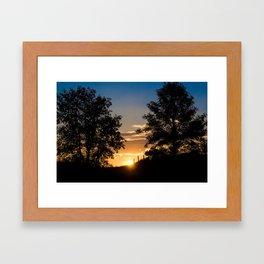 Superior Morning II Framed Art Print
