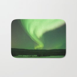 Aurora Borealis in Alaska 2 Bath Mat