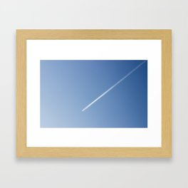 It´s a plane Framed Art Print