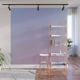 LAVENDER - Minimal Plain Soft Mood Color Blend Prints Wall Mural