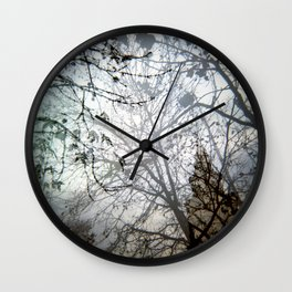 Natural Mystic Wall Clock