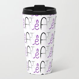 """I'm Ace"" Repeating Pattern Travel Mug"