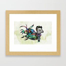 Mon Frère Le Renard Framed Art Print