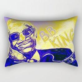 B.B. King Blues Legend Rectangular Pillow