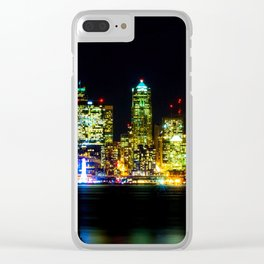 Landscape urban Clear iPhone Case