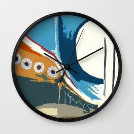 Lineas y Circulos 6 Wall Clock