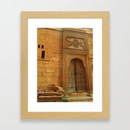 Temple of Dreams Framed Art Print