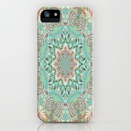 Jungle Kaleidoscope 2 iPhone Case