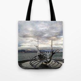 Sólfar - The Sun Voyager Tote Bag