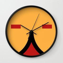 face 9 Wall Clock