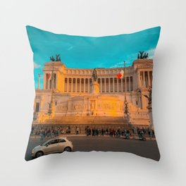 Roma Bella Throw Pillow