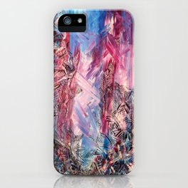 Meet In The Middle iPhone Case