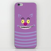 cheshire iPhone & iPod Skins featuring Cheshire by Maria Jose Da Luz