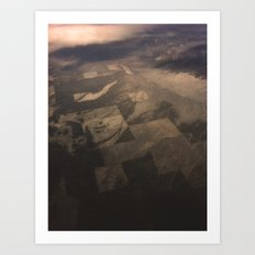 In the Air pt 2 Art Print