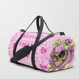Tough Bubblegum Duffle Bag