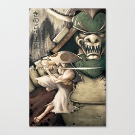Ronins of the Mushroom Kingdom Canvas Print