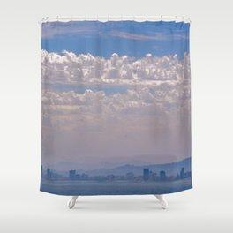 Smoky Sky Shower Curtain