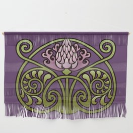 Nouveau Thistle Wall Hanging