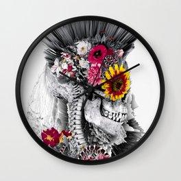 Momento Mori Punk Wall Clock