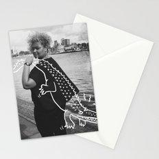 The Urban Crocodile Huntress Stationery Cards