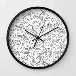 A Party of Handicapped Octopi II Wall Clock