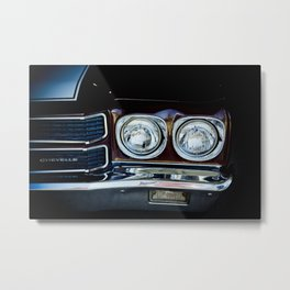 Chevy Chevelle - Part of the Vintage Car Series Metal Print