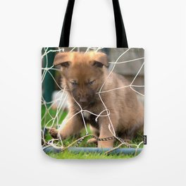 Goalkeeper of the new generation Tote Bag