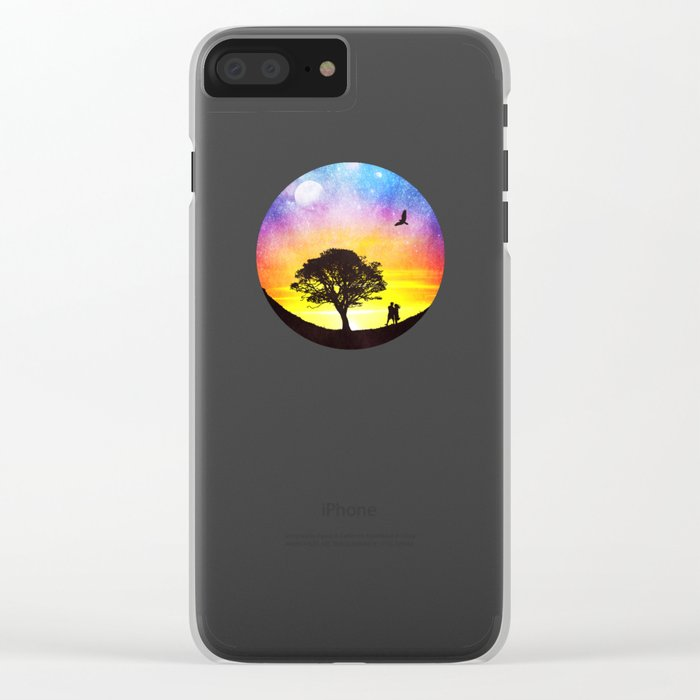 When the stars were shining Clear iPhone Case