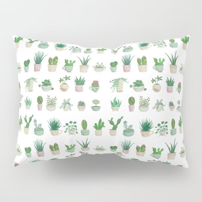 Tiny garden Pillow Sham