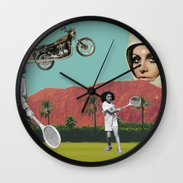 Dystopian Watchdog Wall Clock